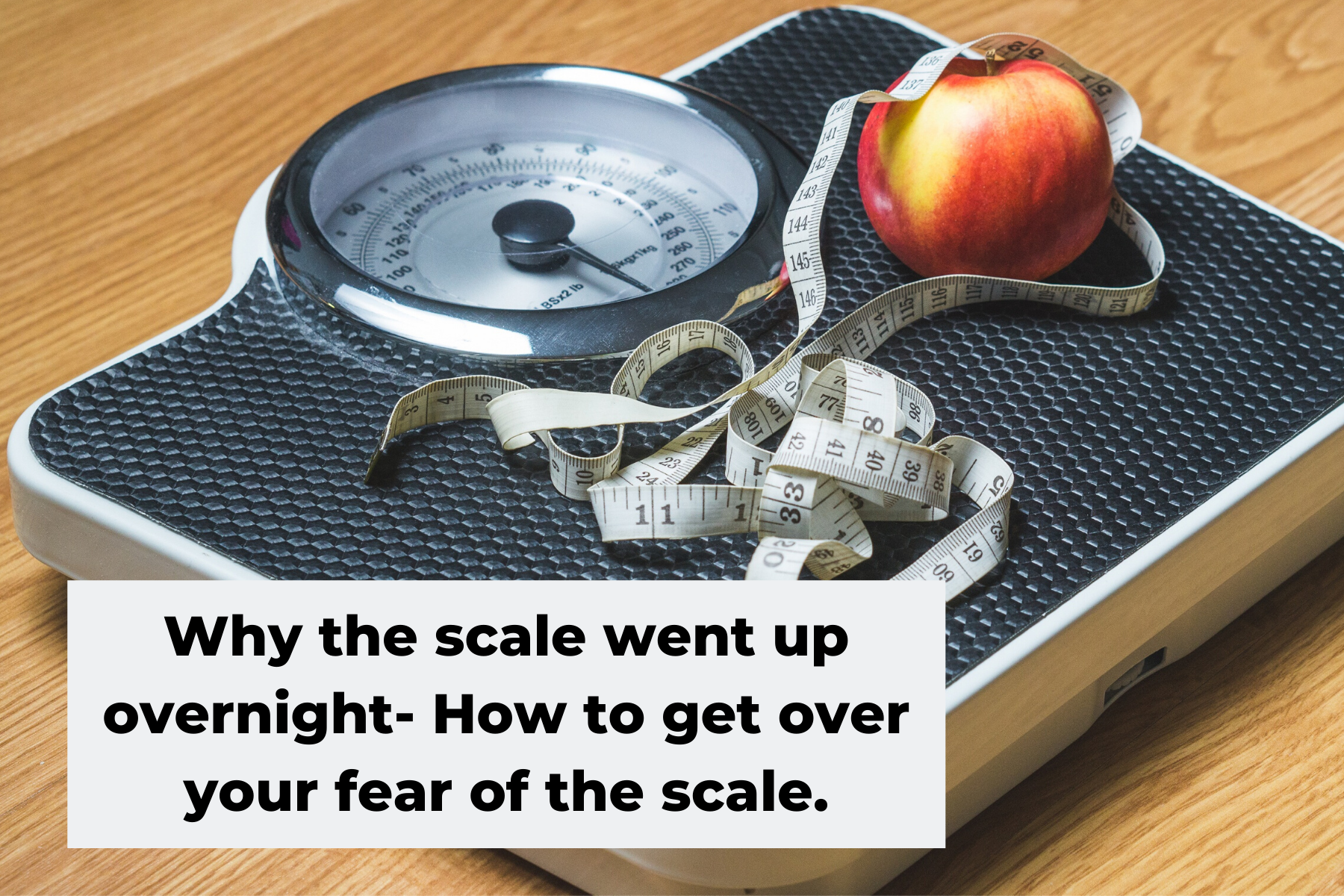 Why the scale went up overnight